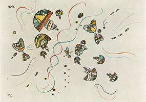 Wassily Kandinsky. Last Watercolour,