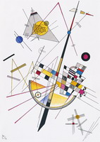 Mild Tension (1923) by Wassily Kandinsky