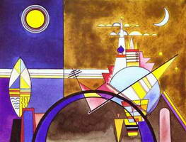 Wassily Kandinsky. Picture XVI. The Great Gate of Kiev,
