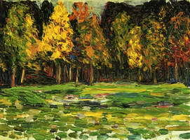 Wassily Kandinsky. Forest Edge,
