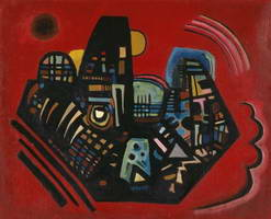 Wassily Kandinsky. Black-Red,