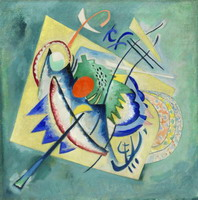 Wassily Kandinsky. Red Oval,