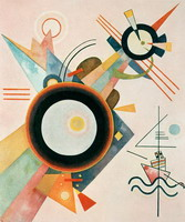 Wassily Kandinsky. Image with Arrow,