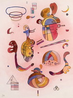 Wassily Kandinsky. Isolated Objects,