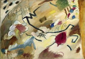 Wassily Kandinsky. Improvisation with Horses (sketch for improvisation No. 20), 1911