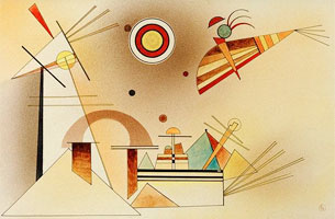 Wassily Kandinsky. Reduced Weight,