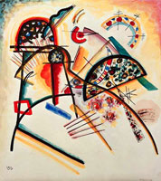 Composition (red,yellow,black) (1923) by Wassily Kandinsky